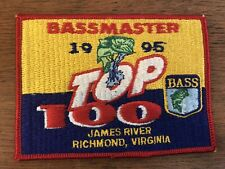 Bassmaster 1995 Top 100 James River Richmond, Virginia Fishing Tournament Patch