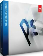 Adobe photoshop cs5 version complète MAC Allemand INCL. TVA Box Retail NEUF