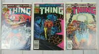 The Thing #1-3 1983, Marvel Comics Lot of 3 Comics