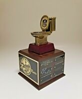 FANTASY FOOTBALL TROPHY 18 YEAR LAST PLACE TOILET BOWL - FREE ENGRAVING!!!!