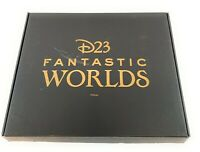 Disney D23 Fan Club Fantastic Worlds Gold Member Gift Set Pins Map NEW
