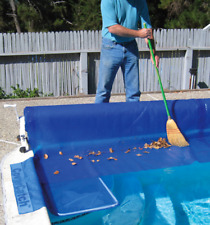 PoolMaster Cover Catch Debris Collector For Swimming Pool Solar & Winter Covers