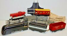 "MARX NEW YORK CENTRAL"" THE MERCURY"" WIND LOCOMOTIVE, 4 CARS,17 TRACK PIECES"