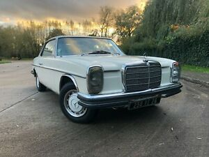 1972 Mercedes-Benz 250 CE Coupe LHD Barn find