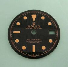 ~ Vintage Rolex #6542 GMTGloss Black Refinished Dial ~