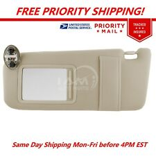 New Sun Visor Left Driver Side Tan for 07-11 Toyota Camry With Sunroof and Light (Fits: Toyota Camry)