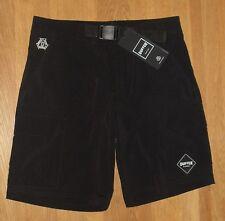 "Duffer of St George Mens Black Monde Shorts Size UK Medium 32 - 35"" Waist"