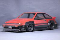 PAB-2102 Pandora 1/10 RC Drift Car Toyota AE86 TRUENO-N2 Body Set