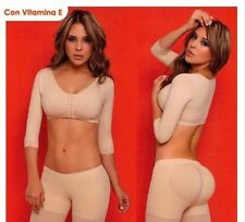 BODY FLEX Bra Sleeves Compression Body Shaper Girdle Fajas Colombianas XL 115