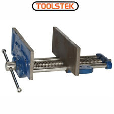 """8"""" WOOD WORKING CARPENTERS BENCH VICE BOLT MOUNTING TO WORKSHOP TABLE 200MM WIDE"""