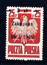 POLAND - POLONIA - 1945 - Liberazione delle città polacche. Tipo del 1944 sovr.