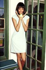 NWT Boden Pretty Cotton Dress Ivory Summer Broderie Bib Size 8 *