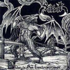 "Sabbat ""Live in San franciconslaught"" CD [Japan Evil Cult BLACK thrash metal]"