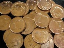 Samoa  Sene 1974 red  CH BU lot of 25 BU coins