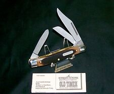 "Schrade 8OT Knife Senior Stockman Circa-1980's ""Tim Scratched on It"" Very Sharp"