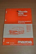 Werkstatthandbuch MAZDA 626 Station Wagon Ergänzung 1990 Linkslenker