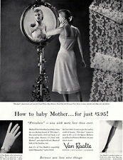 Frivolace Slip Van Raalte HOW TO BABY MOTHER Sexy Lingerie 1956 Magazine Ad