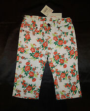 "Girls BNWT ""Pumpkin Patch's - Charlie & Me"" Floral Skinny Cropped Jeans– Size 4"
