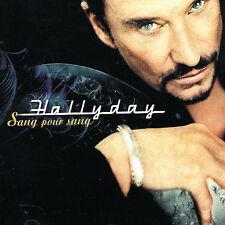 Sang Pour Sang by Johnny Hallyday (CD, Aug-1999, Universal/Polygram)