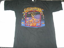 Vtg OG Mind Funk NY Metal Hard Rock T Shirt XL Nice 91