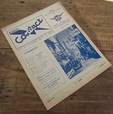 RADIO CONTACT NUMERO 15 MARS 1952