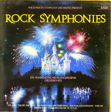 The London Symphony Orchestra - Rock Symphonies - LP - washed - cleaned - L3156