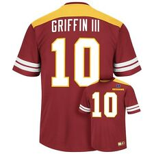 ($60) Washington Redskins ROBERT GRIFFIN III nfl RG3 Jersey Shirt ADULT MEN'S m