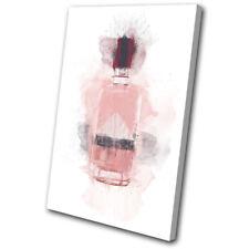 Gin Pink Alcohol Abstract Food Kitchen SINGLE DOEK WALL ART foto afdrukken
