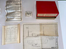 Scale Structures Limited, Kit #108, 8742 Street Details Kit