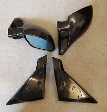 MANUALE NERO M3 Style Mirrors & piastre di base per adattarsi SUBARU IMPREZA 2000 - 2007