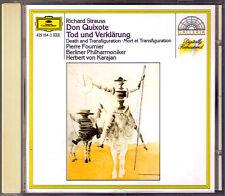 Herbert di Karajan & Pierre Fournier: Strauss Don Quixote Morte e Trasfigurazione CD