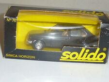 SOLIDO SIMCA HORIZON 1978 NEUVE BOITE