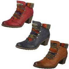 Calzado de mujer botines multicolor