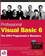 Professional Visual Basic 6: A Programmers Resource