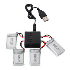 Lipo Battery 4x 3.7V 700mAh + Charger for Syma X5C F5C Drone Batteries RC168