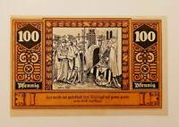 WILSNACK NOTGELD 100 PFENNIG 1922 NOTGELDSCHEIN (13111)