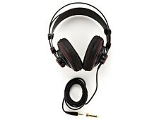 Stereo Headphones Dynamic Headset Semi Open Black Over Ear Superlux UK Stock