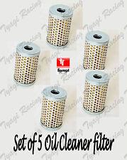Pack de 5 ROYAL ENFIELD BULLET ELECTRA huile nettoyant élément filtrant 500613