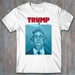 Cool T-shirt - TRUMP JAWS parody US Election 2020