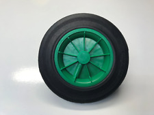 REPLACEMENT WHEELIE BIN WHEEL / WHEELIE BIN WHEELS 200/50-100 - GREEN