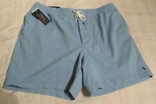 RALPH LAUREN POLO SHORTS CLASSIC FIT TRANSIT BLUE SIZE XXL NEW WITH TAGS RRP £75