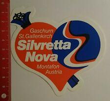 Aufkleber/Sticker: Silvretta Nova Gaschum St Gallenkirch (220716134)