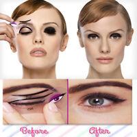 Eyeliner Stencil Eyeshadow Guide Smokey Cat Quick Eye 2 Pcs Makeup Tool 1 Set