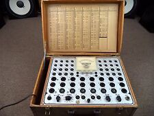 Teletest Model T-56 Tube Tester made by Anko Manufacturing Co. Inc. / Untested