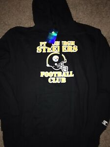 Pittsburgh Steelers Men's Starter Homage Pullover Hoodie Sweatshirt XXL
