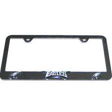 NEW PHILADELPHIA EAGLES - NFL TEAM LOGO 3D CHROME LICENSE PLATE FRAME