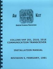 COLLINS VHF 251/ 251S/ 251E  INSTALLATION MANUAL