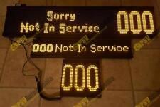 Hanover LED Displays FULL SET Bus Coach Destinations Home Office 24V DDA