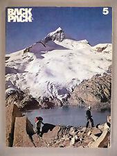 Backpacker Magazine #5 - Spring, 1974 -- back packer, backpacking