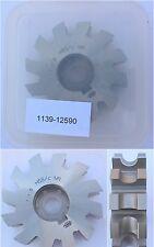 Halbrund-Profilfräser DIN 856R 2,5 konvex Ø80x24xØ27 - 12 Spannuten